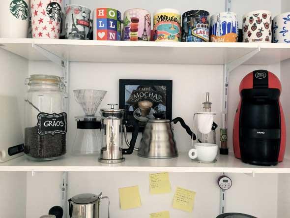 Cantinho decorado para quem gosta de café 004