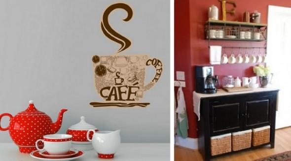 Cantinho decorado para quem gosta de café 016