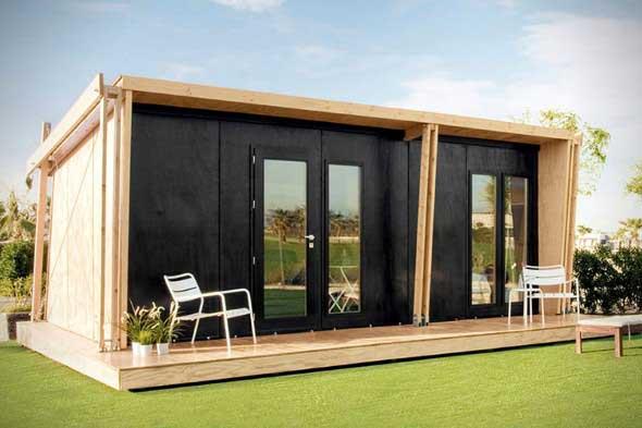 Casa de madeira charmosa e funcional 013