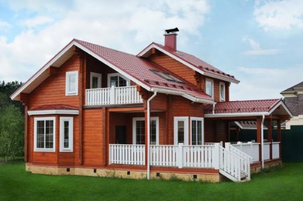 Casa de madeira charmosa e funcional 015