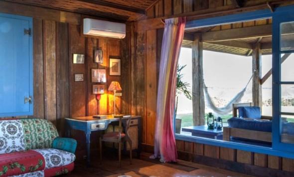 Casa de madeira charmosa e funcional 017