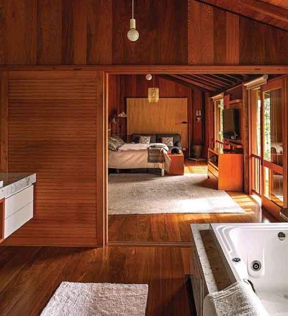 Casa de madeira charmosa e funcional 018