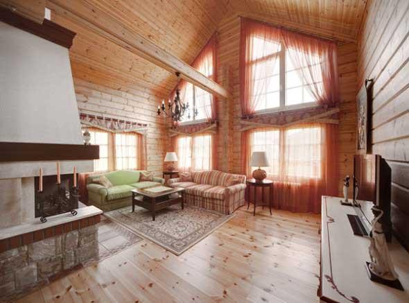Casa de madeira charmosa e funcional 019