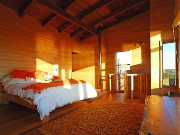 Casa de madeira charmosa e funcional 020