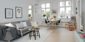Casa decorada em estilo escandinavo 001