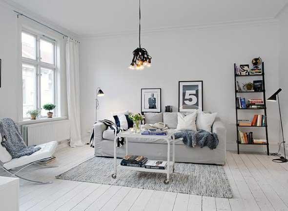 Casa decorada em estilo escandinavo 006