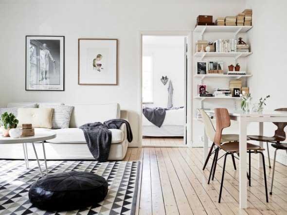 Casa decorada em estilo escandinavo 015