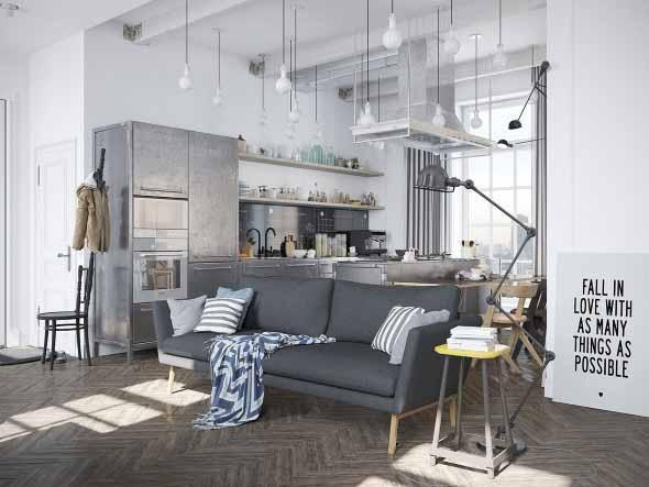 Casa decorada em estilo escandinavo 021