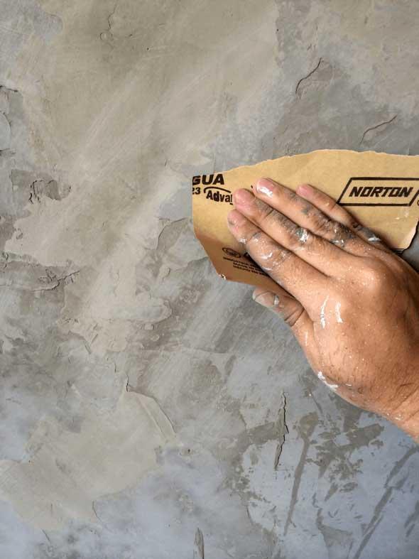 Cobrir piso antigo com cimento queimado 004