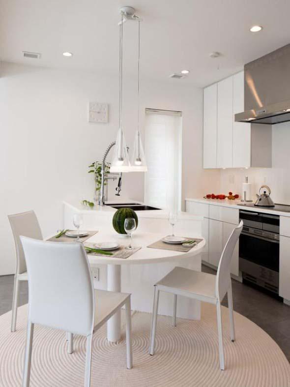 17 tipos de mesas para cozinha - Mesas pequenas ...