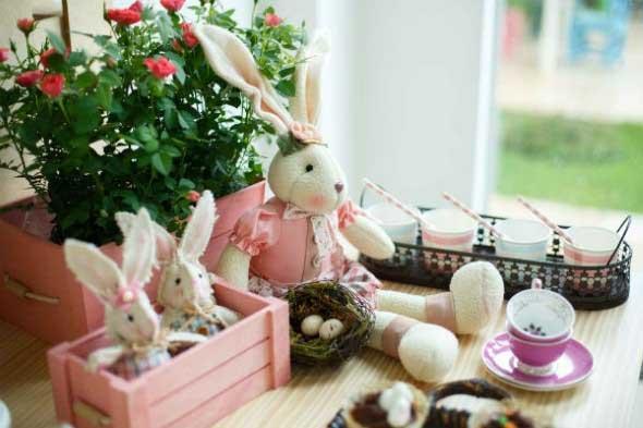 Dicas de decoraç u00e3o para almoço de Páscoa -> Como Decorar Ovo De Pascoa