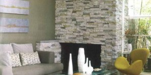 Decorar um ambiente com parede de pedra 001