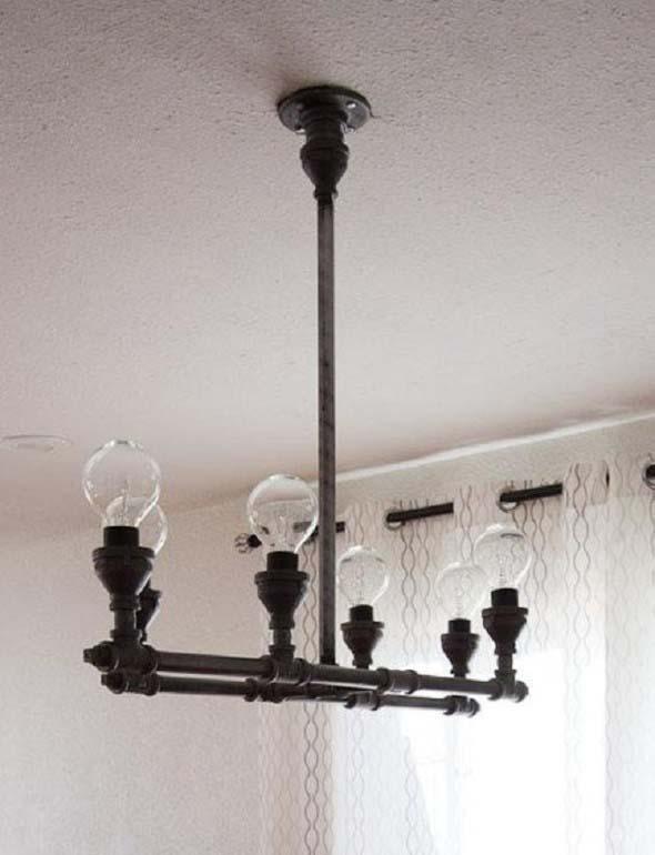 Decore a casa com canos de metal 002