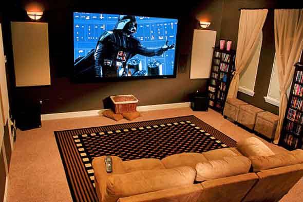 Espaço na casa para ver TV e assistir filmes 003