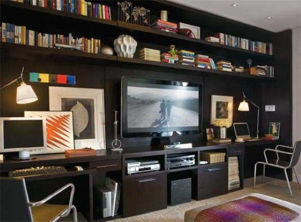 Espaço na casa para ver TV e assistir filmes 009