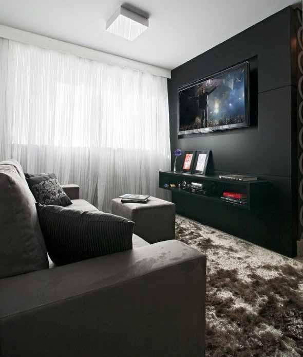 Espaço na casa para ver TV e assistir filmes 010