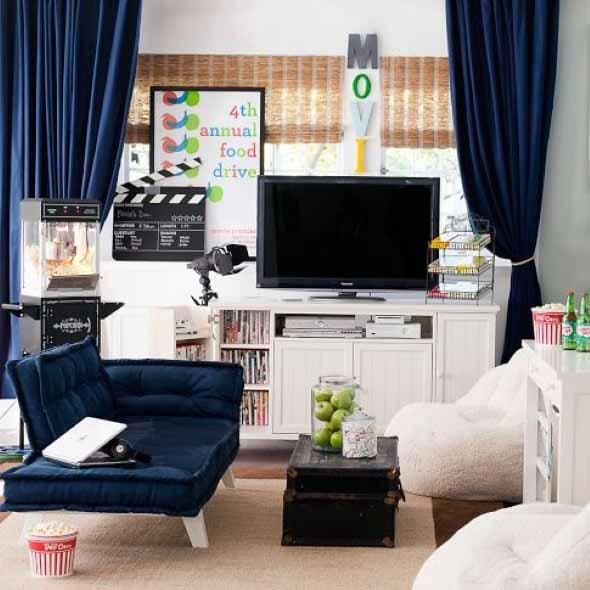 Espaço na casa para ver TV e assistir filmes 012