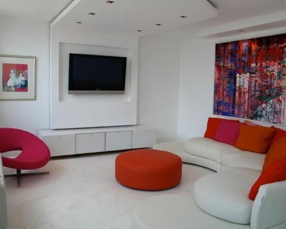Espaço na casa para ver TV e assistir filmes 014