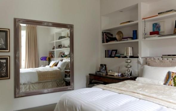 Espelhos decorativos para quartos 009