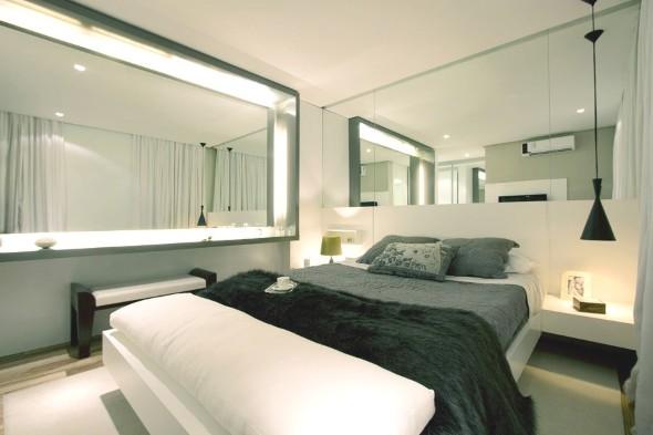 Espelhos decorativos para quartos 011