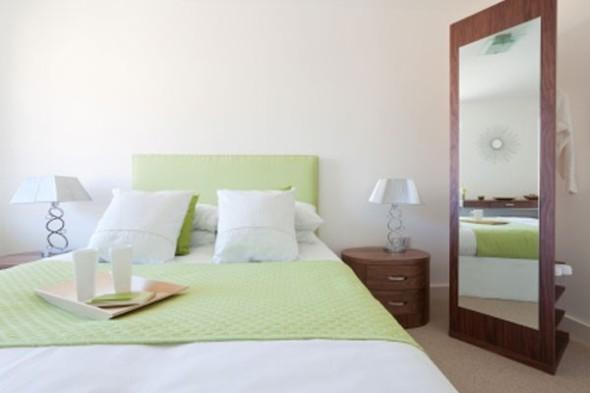 Espelhos decorativos para quartos 012