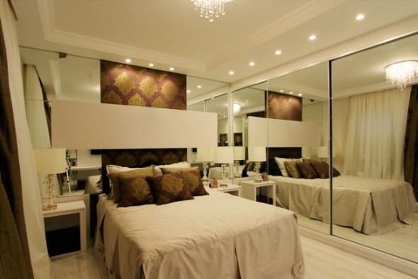 Espelhos decorativos para quartos 018