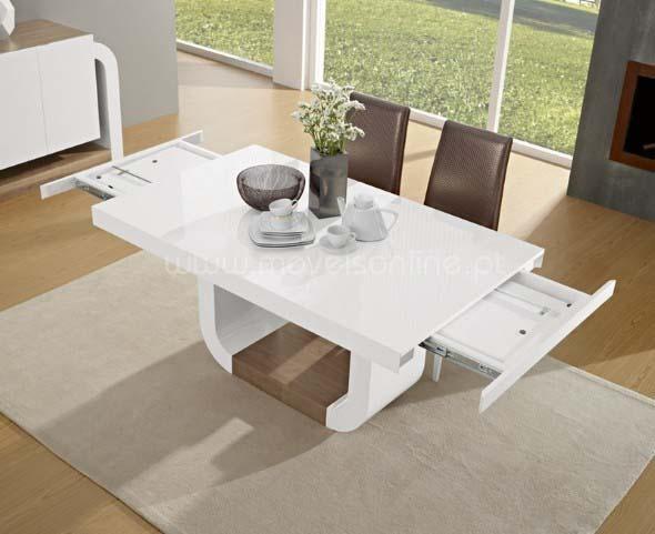 Mesas de jantar extensíveis 007