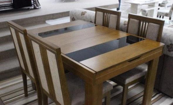 Mesas de jantar extensíveis 013