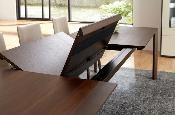 Mesas de jantar extensíveis 014