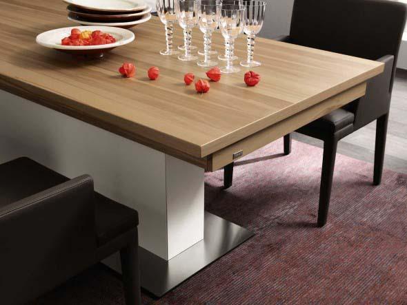 Mesas de jantar extensíveis 015