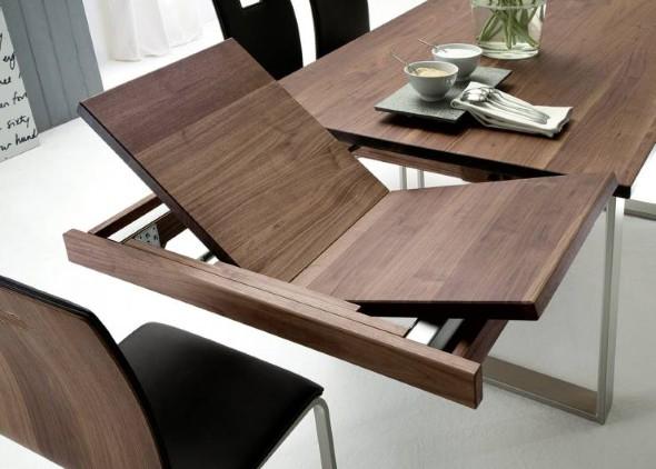 Mesas de jantar extensíveis 016
