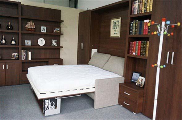 Modelos de cama escondida para casas e apartamentos 001