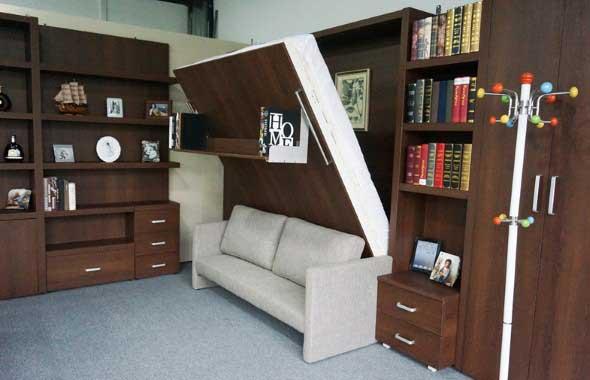 Modelos de cama escondida para casas e apartamentos 002
