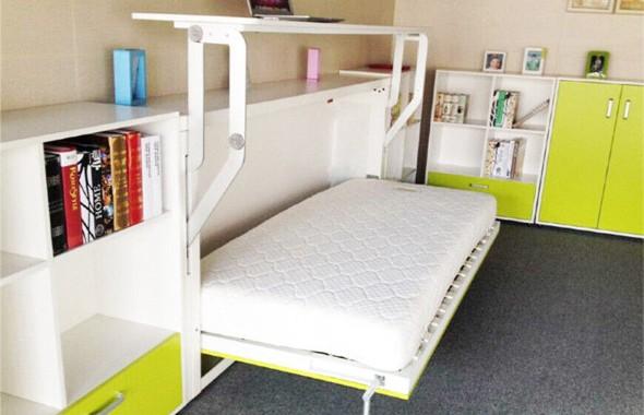 Modelos de cama escondida para casas e apartamentos 005