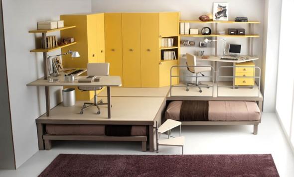 Modelos de cama escondida para casas e apartamentos 12 (Custom)