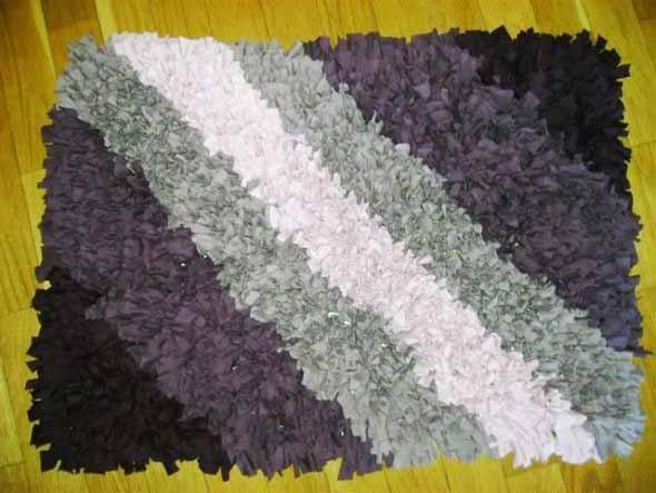Como fazer tapete amarradinho 001