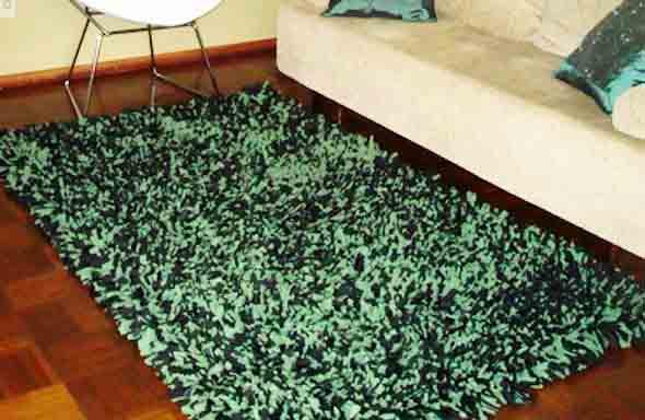 Como fazer tapete amarradinho 003