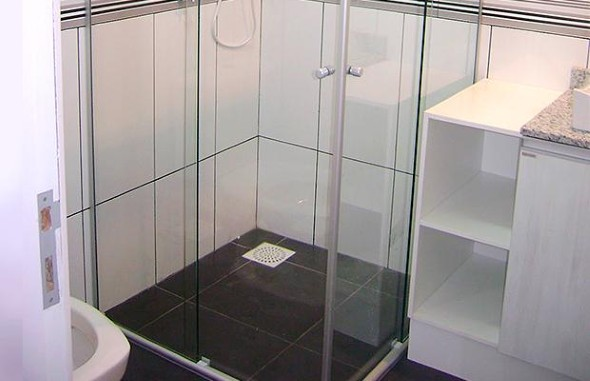 Como limpar o vidro do Box do banheiro 005