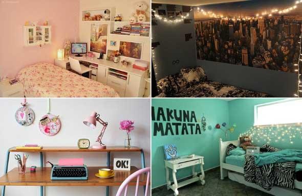 Decoração simples para quarto de meninas 009