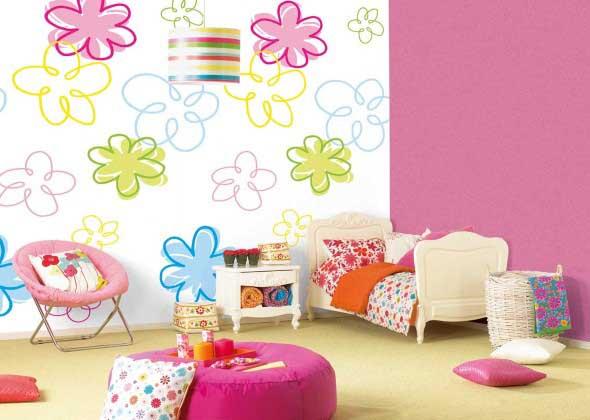 Decoração simples para quarto de meninas 011