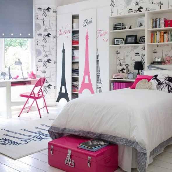 Decoração simples para quarto de meninas 014