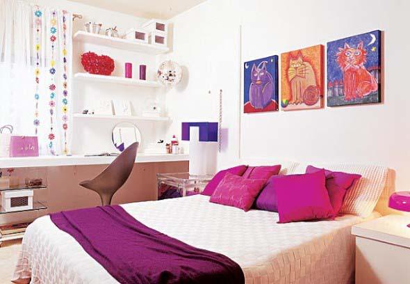 Decoração simples para quarto de meninas 017