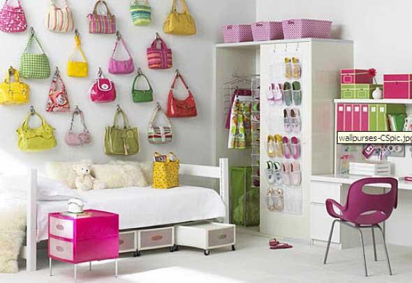 Decoração simples para quarto de meninas 020