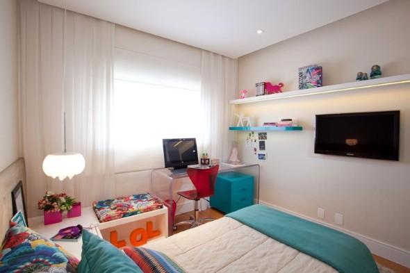 Decoração simples para quarto de meninas 022
