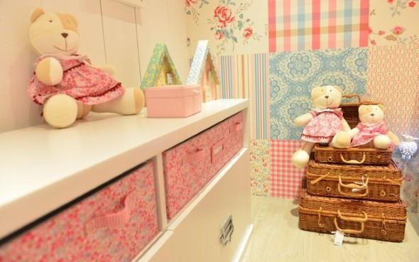 Decoração simples para quarto de meninas 023
