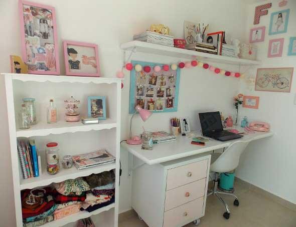Decoração simples para quarto de meninas 024