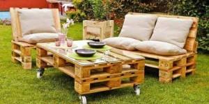 Ideias criativas para usar paletes no jardim de casa 010