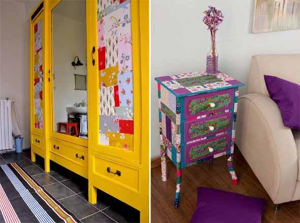 Patchwork na decoração de casa 004