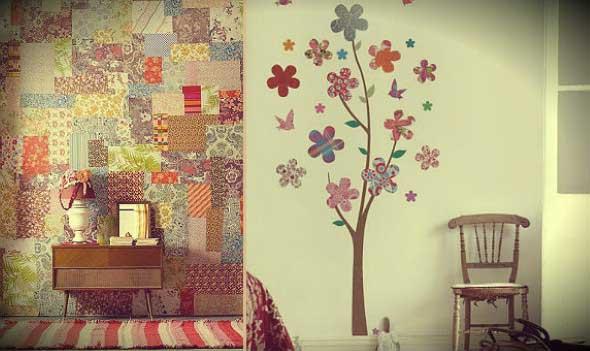 Patchwork na decoração de casa 015
