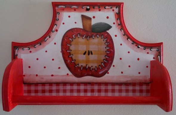 Porta panos de prato artesanal 003